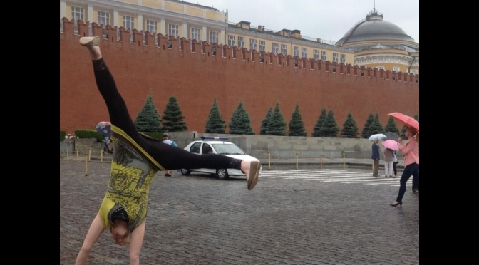 Cultural visit to Red Square, Moscow