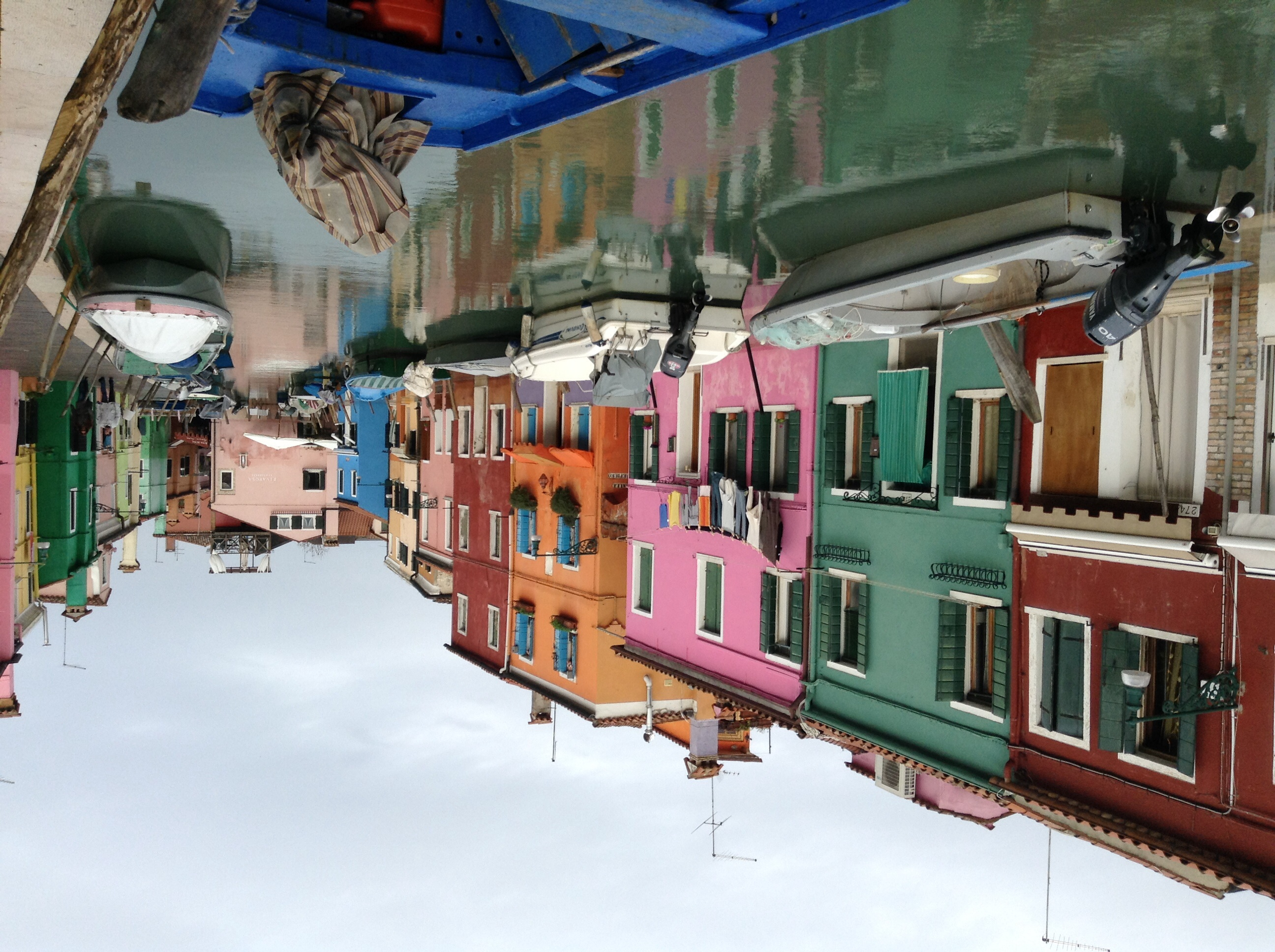 Burano colourful houses