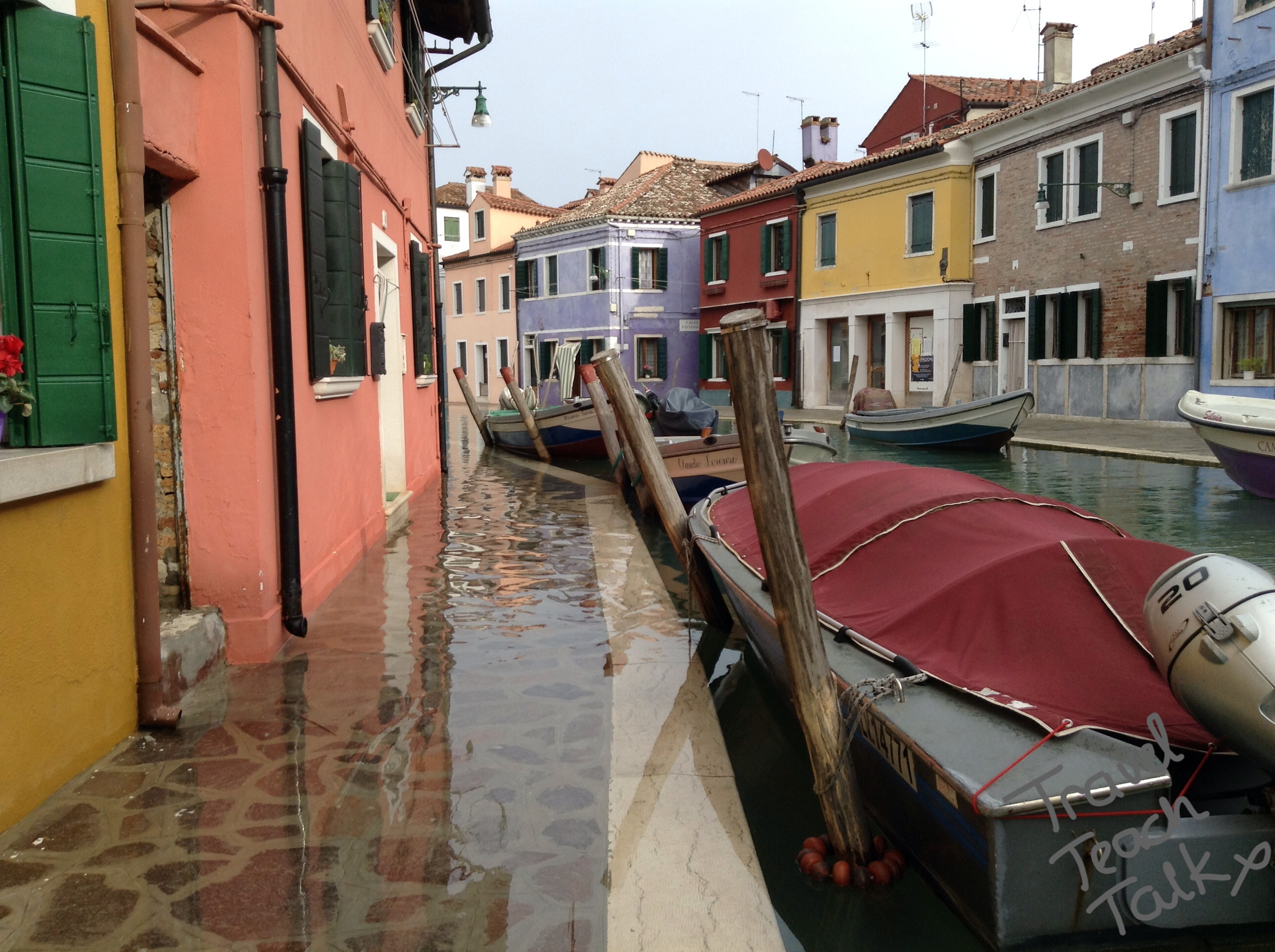 High tide Burano