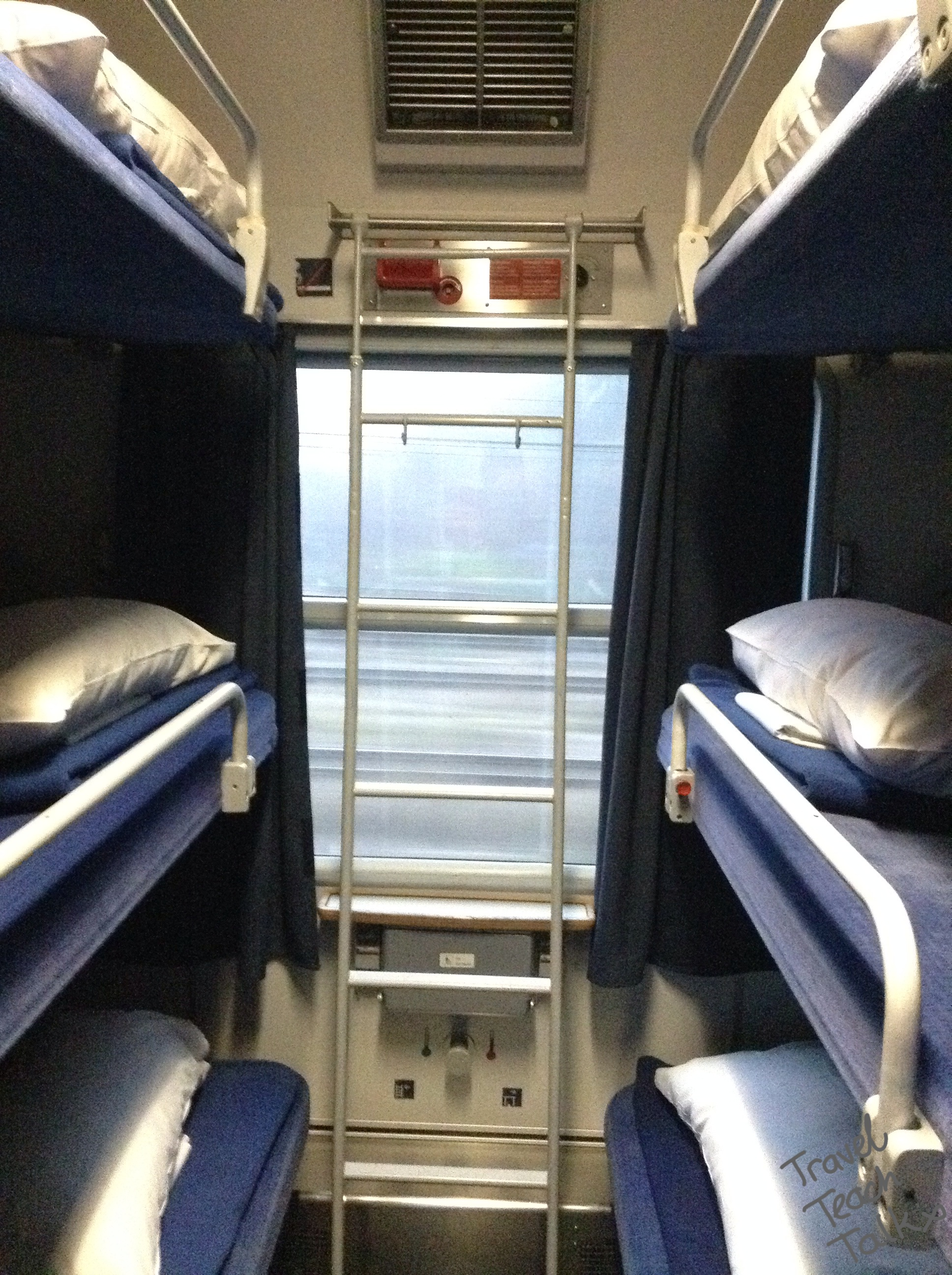 6 berth couchette DB Bahn Germany