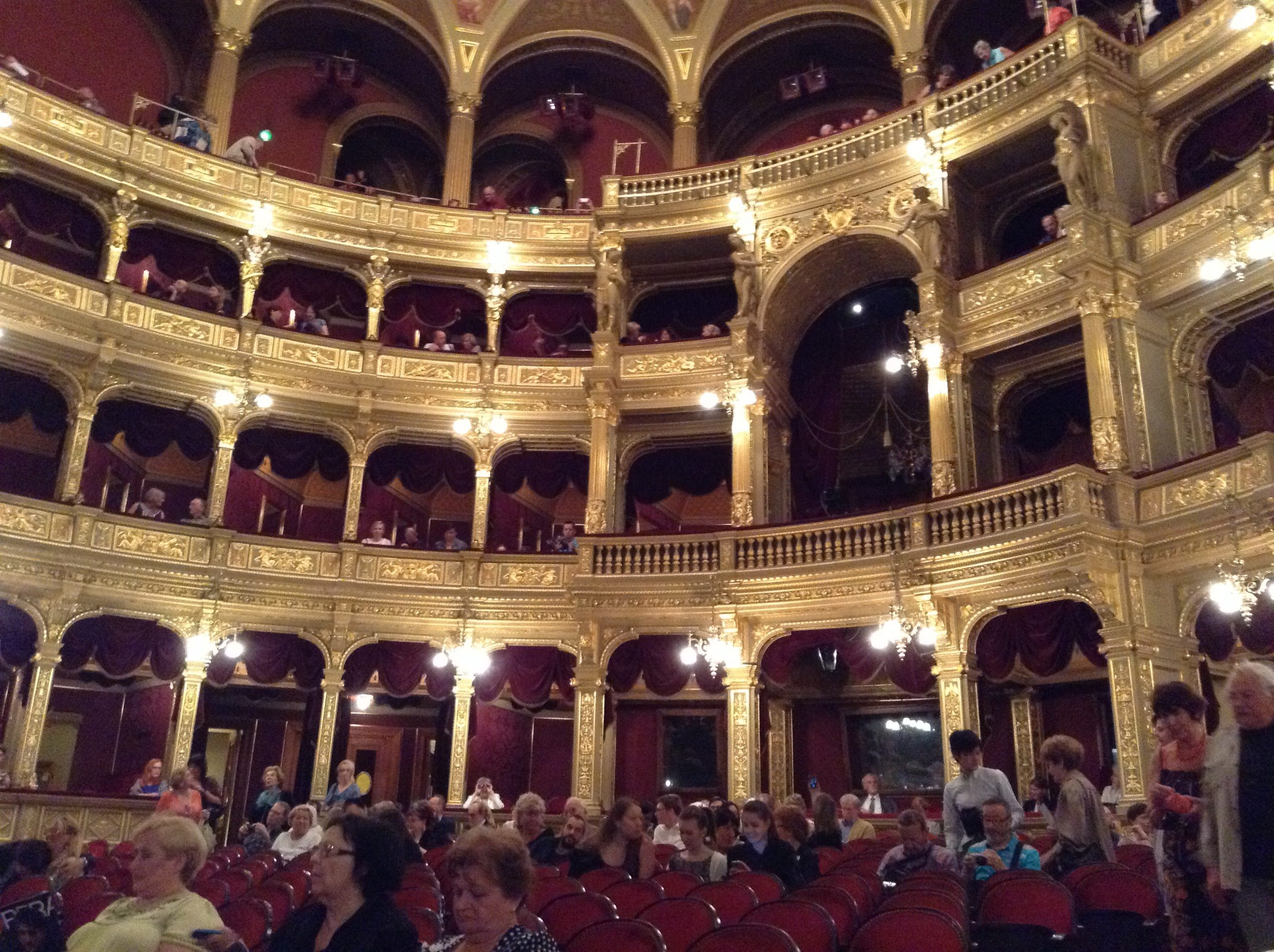 Royal box budapest opera house