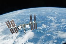 A picture of the space station ( NASA picture )