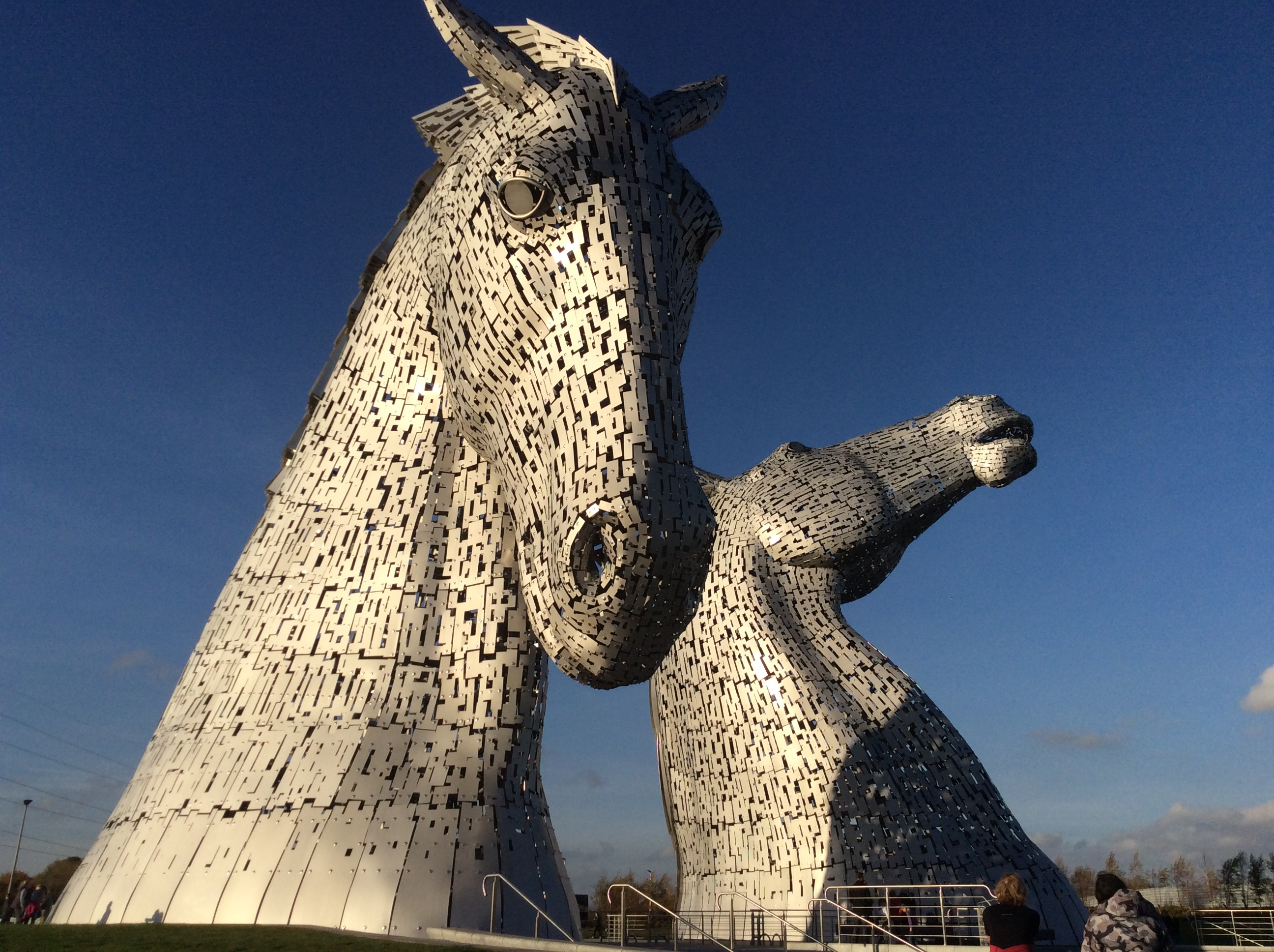 Photo des Kelpies
