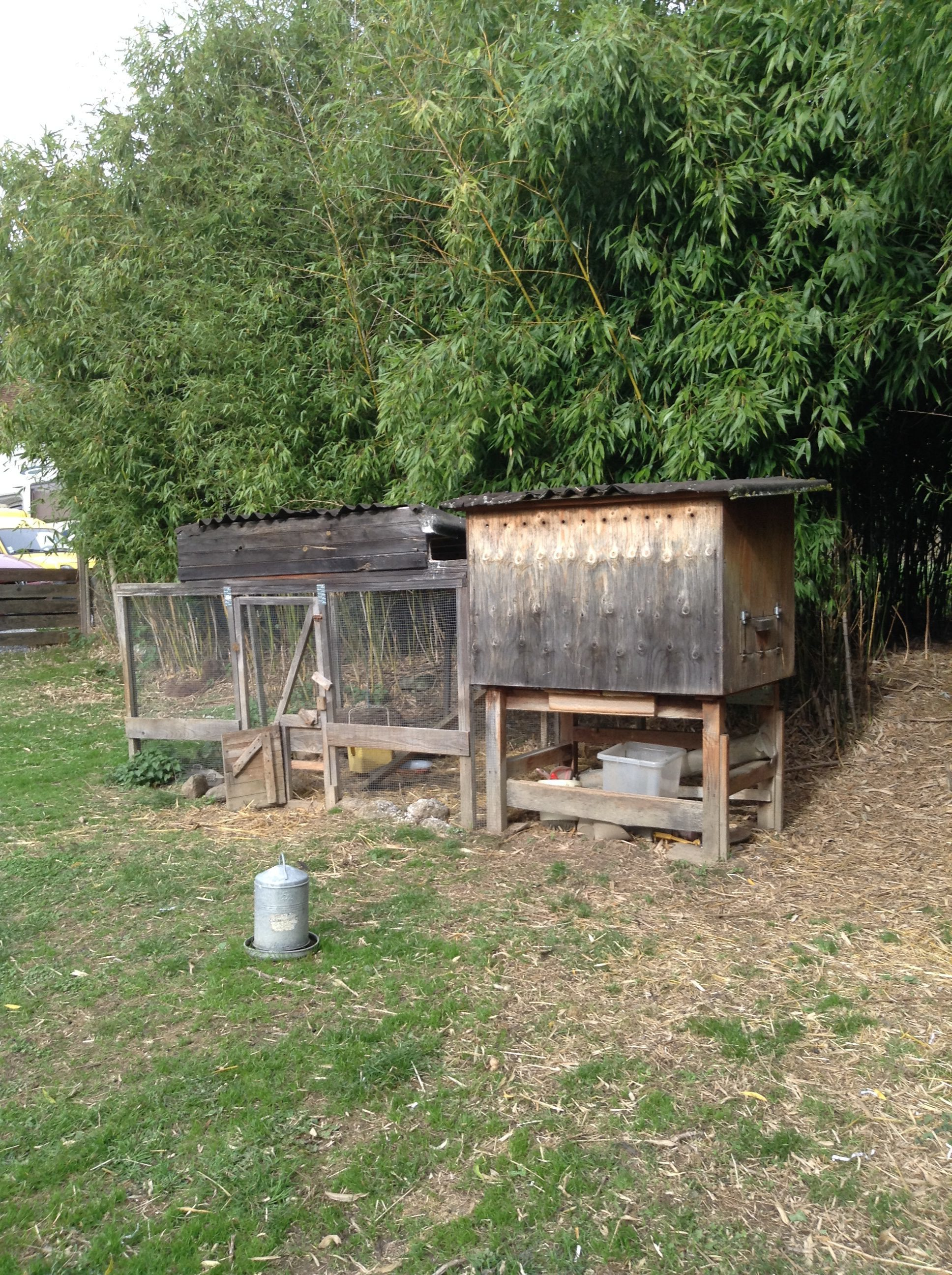 Wooden hen/chicken house